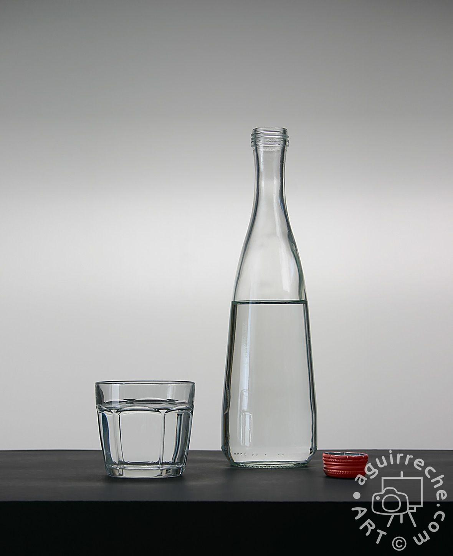 Fotografía botella con polaroid