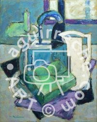 Pintura bodegón cub