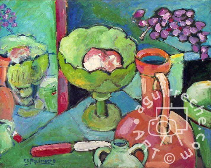 Pintura bodegón Samper