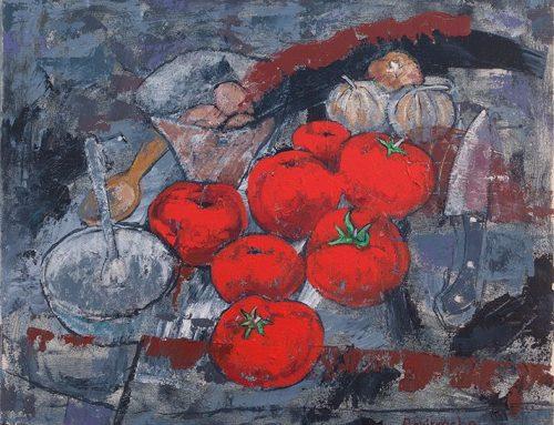 Bodegón de tomates