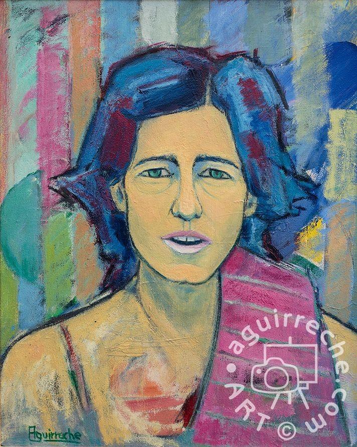 Pintura retrato de Sofía